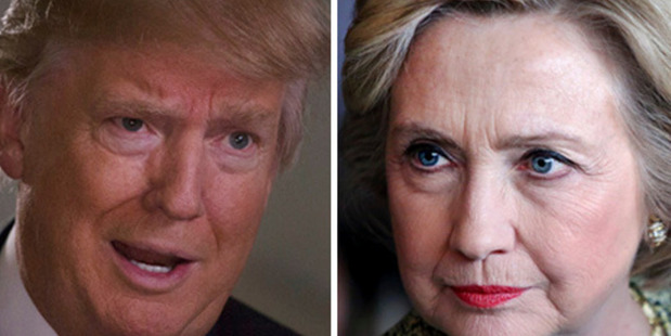 Loading Donald Trump and Hillary Clinton. Photos / Getty Images