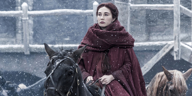 Loading Carice van Houten stars as Melisandre in the TV show Game of Thrones. Photo / Helen Sloan, HBO