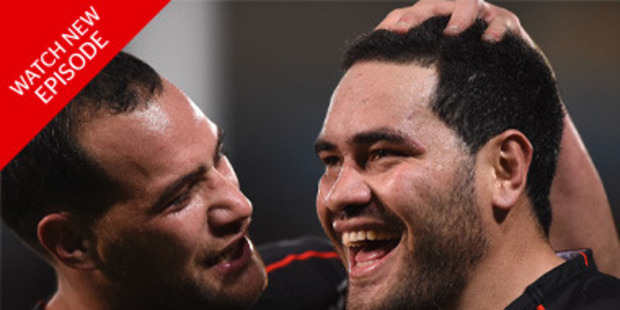 Loading Bodene Thompson (L) and Konrad Hurrell were two of the six players that were axed. Photo / Getty Images