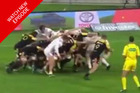 In video footage Tokolahi is seen running freely from both the scrum and the line out with no contact from any other players before going down. Photo / Crowd Goes Wild Breakfast Facebook page