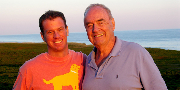 Former US senator Wofford (right) with his husband-to-be, Matthew Charlton. Photo / Courtesy of Harris Wofford via Civic Documentaries