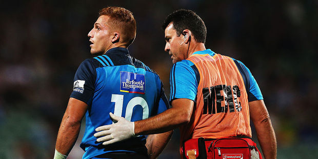 The Blues  need to be honest about the limitations of Ihaia West. Photo / Getty