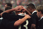 The All Blacks feel the pain of extra-time defeat at the hands of the Springboks. Photo / Geoff Dale
