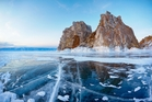 One of Lake Baikal's landmarks, Cape Burkhan. Photo / 123RF