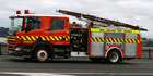 Fire crews from Addington and Governor's Bay are fighting the fire near Christchurch. Photo / File