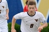 BETTER MIDFIELDER: Andy Bevin playing for his American University team, West Virginia Mountaineers, last year. PHOTO/Stephen M Prunty