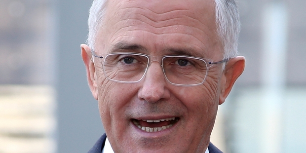 """We need wise and strong economic leadership,"" Turnbull said."