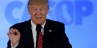 WHERE'S THAT REMOTE? Therace for the US presidency has become like a reality TV show delivered in offensive and highly disturbing sound bites.PHOTO/AP