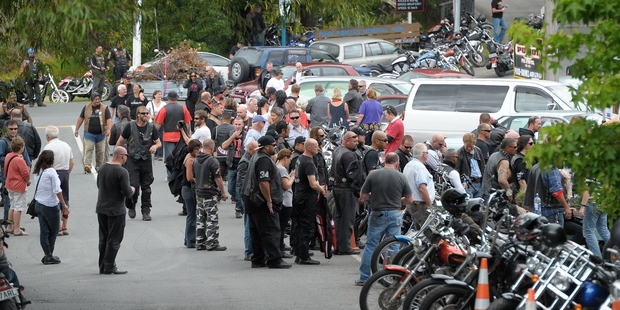 A chance encounter with a group of bikies led to the text. Photo / Jason Dorday