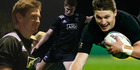 The younger brother of All Black Beauden Barrett showed off his own skills last night leading the under-20 side to a win over the Aussies.