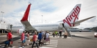 Air NZ faces a considerable loss on its investment given Virgin Australia's share price has fallen to A28.7c. Picture / Bloomberg