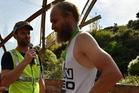 The Waitomo Trail 33km champion Sjors Corpaal (nicknamed 'The Goat'). Photo / Photos4sale