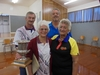 The Ohope Bowling Club's mixed fours won the Bay of Plenty Indoor Bowls Centre's Mixed Fours title on the weekend: Tony Reynolds (left), Gil Reynolds, Gary Hunt and Marge Taare.