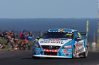 Scott McLaughlin is second on the V8 Supercars points table after winning twice at Phillip Island. Photo / Edge Photographics