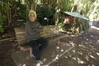 Temoanaroa Rikirangi, 57, is one of a number of homeless people camped out at Graham Park, off Takitumu Drive.