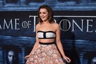 Actress Maisie Williams says she's not sorry for lying about Jon Snow's fate on Game of Thrones. Photo / AFP