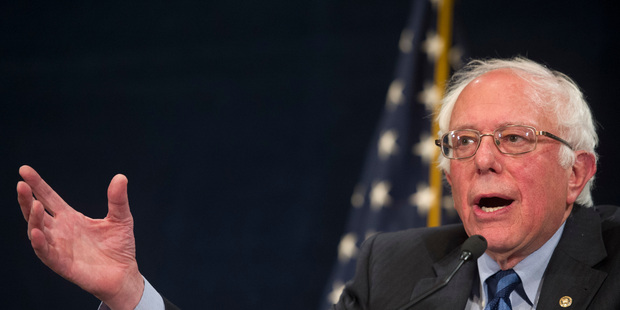 Democratic presidential candidate, Senator Bernie Sanders, wants superdelegates to switch. Photo / AP