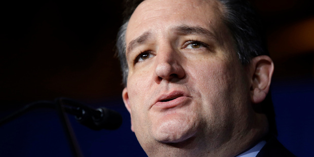 Loading Ted Cruz showed himself to be a great organiser but it wasn't enough. photo / AP