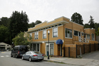 The building housing the office of Dr Howard Kornfeld in Mill Valley, California. Photo / AP