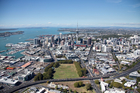 Aerial photographs of Auckland City. Photo / File