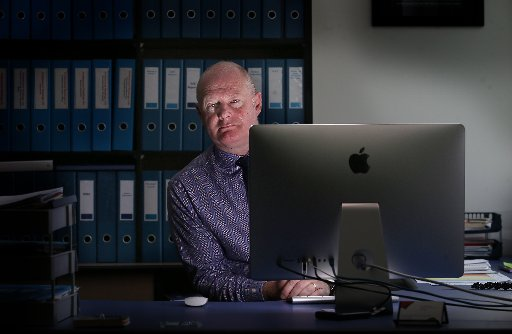 Principal of Mount Maunganui College Russell Gordon has tried to increase the numbers of females enrolling in maths at higher levels. Photo / John Borren