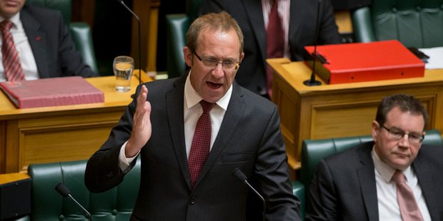Labour leader Andrew Little's Health Homes Bill has passed its first reading in Parliament. Photo / Mark Mitchell