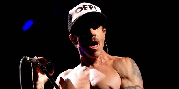 Anthony Keidis and the Red Hot Chili Peppers will return with a new album in June. Photo/Dean Purcell