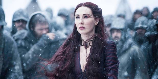 Melisandre, The Red Woman, plays a key role in the latest episode of Game of Thrones.