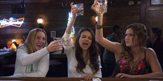 Loading Kristen Bell, Mila Kunis and Kathryn Hahn star in the upcoming film, Bad Moms