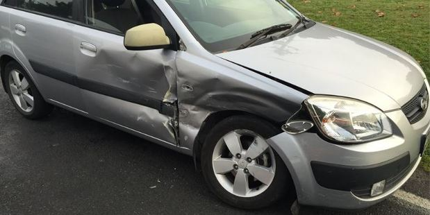 Cambridge police reminded motorists to take care after attending a crash this morning. Photo / Cambridge Police