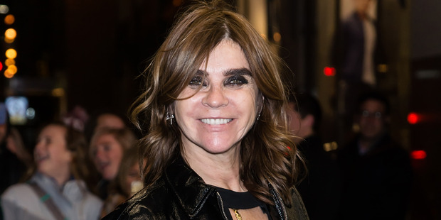 The former editor-in-chief of Vogue Paris, Carine Roitfeld, is queen of the smokey, smudgy eye. Photo / Getty