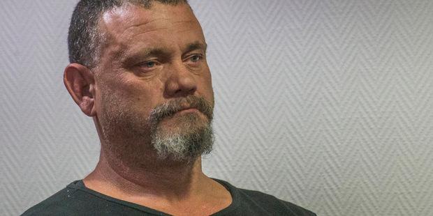 Rapist Devon Bond in court today. Photo / John Kirk-Anderson