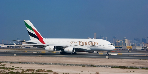 Emirates' order for $99 billion worth broke commercial aviation records. Photo / Getty Images