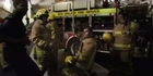 Watch: Watch : NZ Fire Service do the Running Man dance