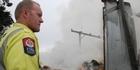 Watch: Carterton farm fire