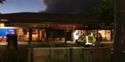 Watch: Fire at Flagstaff Cafe and Sports Bar