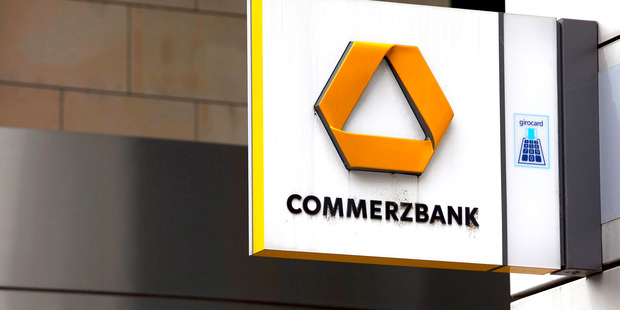 In Germany, the most prominent participant is Commerzbank. Photo / Getty Images