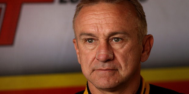 Russell Ingall during the 2014 season. Photo / Getty Images