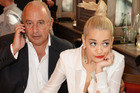 Under fire: Sir Philip Green and singer Rita Ora. Photo / Getty Images