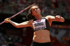 Portia Bing during the 15th IAAF World Athletics Championships Beijing 2015. Photo / Getty Images