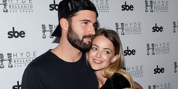 Television personality Brody Jenner and model Kaitlynn Carter are engaged. Photo / Getty Images