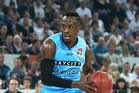 Cedric Jackson of the New Zealand Breakers drives to the basket. Photo / Getty Images