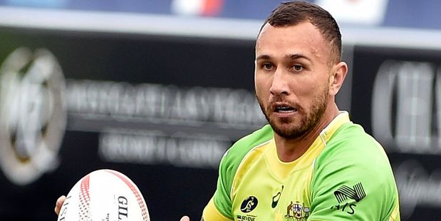 Quade Cooper could return to Super Rugby. Photo / Getty