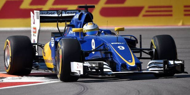 Sauber F1 Team's Swedish driver Marcus Ericsson during the Formula One Russian GP. Photo / Getty Images