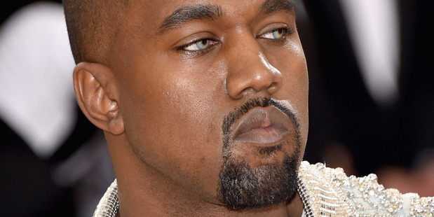 Loading Kanye West sported a new look and a bad attitude on the red carpet at the Met Gala. Photo/Getty