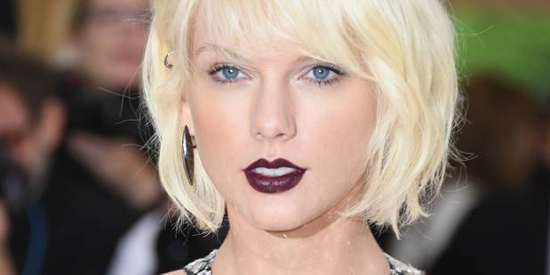Taylor Swift attends the Met Gala in New York. Photo/Getty