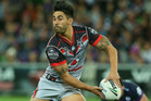 Shaun Johnson of the Warriors. Photo / Getty Images.