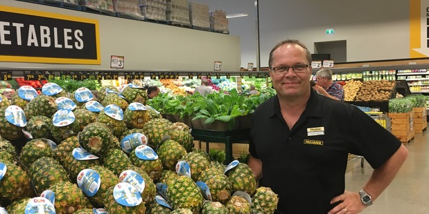 DREAMS DO COME TRUE: Jason Davy, pictured in the Pak 'n Save Kapiti store, is the proud new owner of New World Foxton.