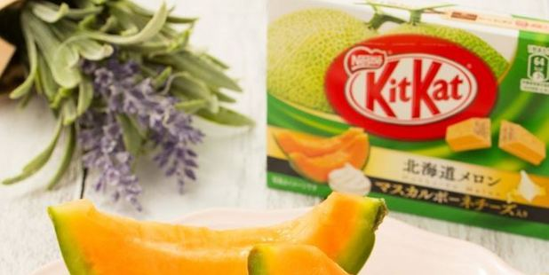 New melon and cheese Kit Kats have failed to impress some chocolate fans. Photo / Twitter/Kit Kat Japan