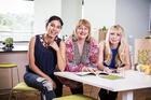 The My Food Bag founders: Nadia Lim, Theresa Gattung, Cecilia Robinson. Photo / Supplied